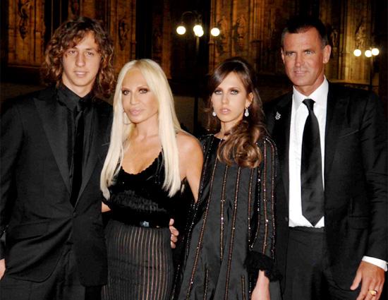 Донателла и её семья