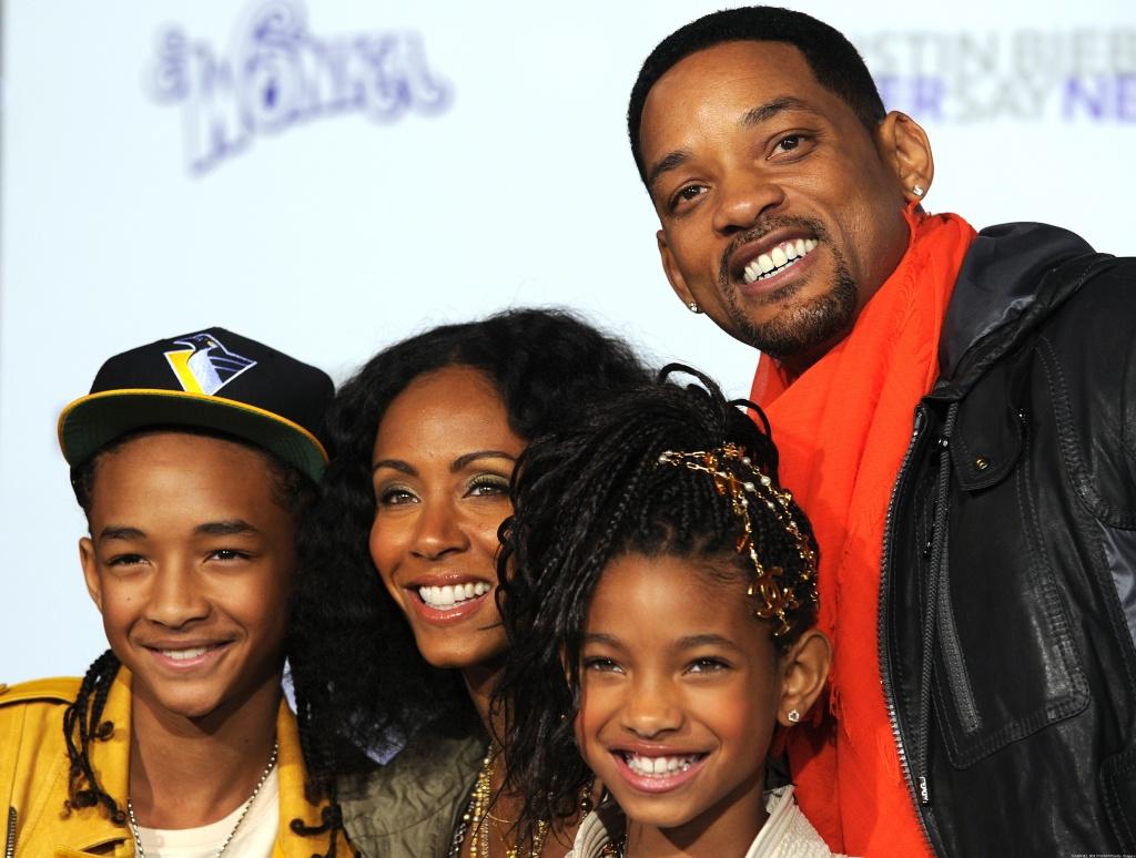 уилл смит фото с семьей