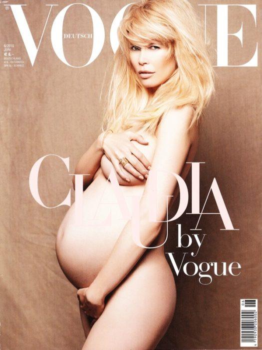 Клаудиа Шиффер для журнала Vogue, 2010 год