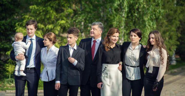 семья Марины Порошенко