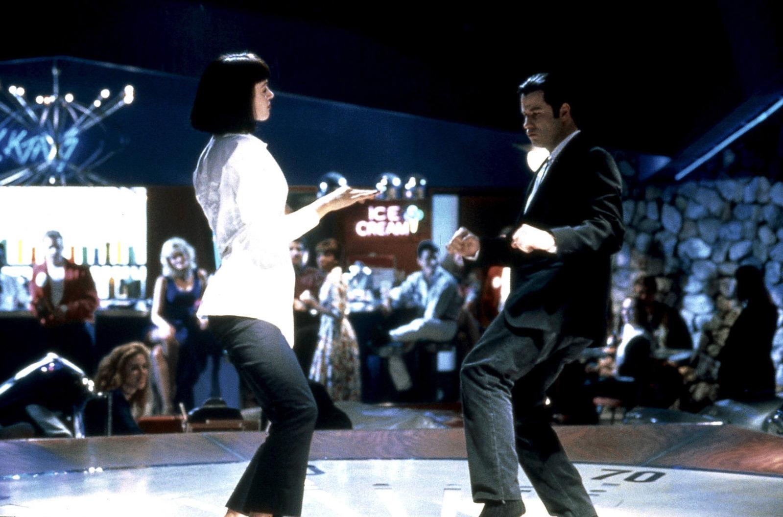 ума турман танец из фильма криминальное чтиво
