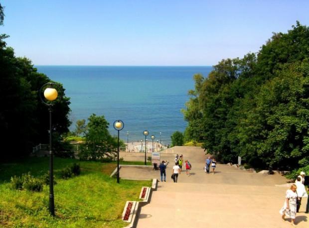 Янтарный берег Калининграда