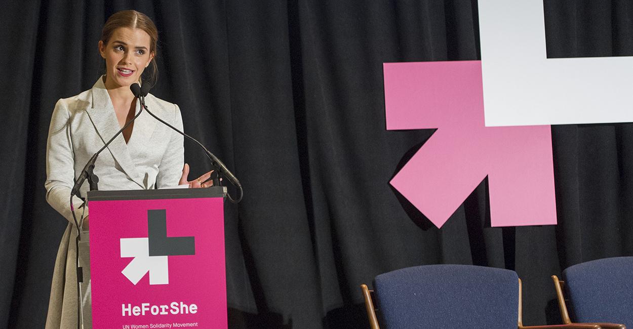 Эмма Уотсон на мероприятии HeForShe