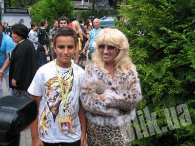 Ирина Аллегрова привезла в Юрмалу своего 13-летнего внука – Александра
