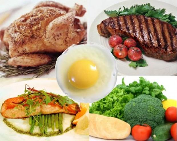 Протеиновая и белковая диеты