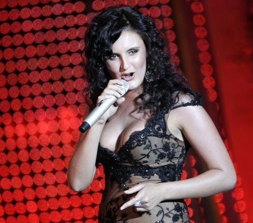 Украинская певица Мила Нитич