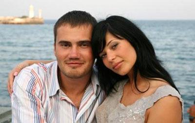 Виктор Янукович-младший с невестой Ольгой