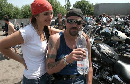 Шон Карр с женой Женей