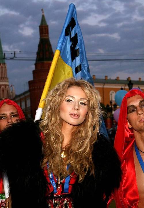 """Cветлана Лобода со своей командой накануне """"Евровидения"""""""