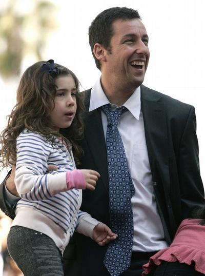 Адам Сэндлер / Adam Sandler с дочерью