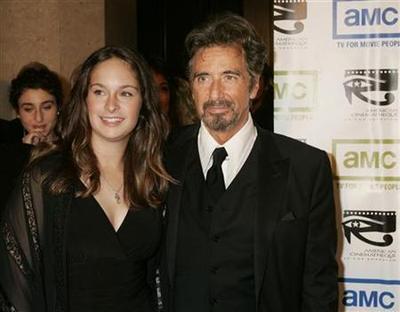 Аль Пачино с дочерью Джули