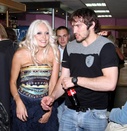 Марина и Александр Овечкин