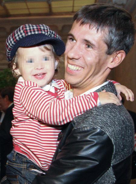Алексей Панин со своей старшей дочерью