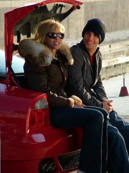 Алена Свиридова с экс-мужем Димой