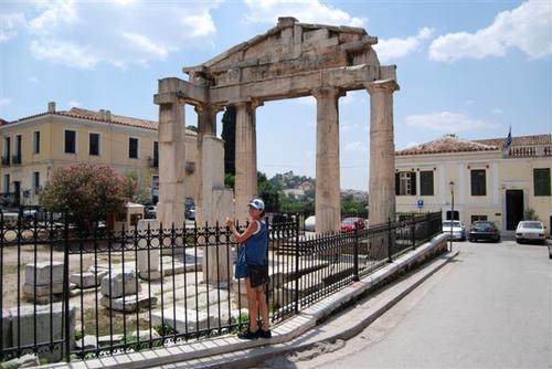 Алена Винницкая на отдыхе в Греции