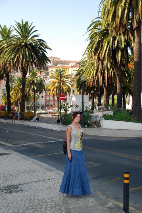 Алена Винницкая в Португалии