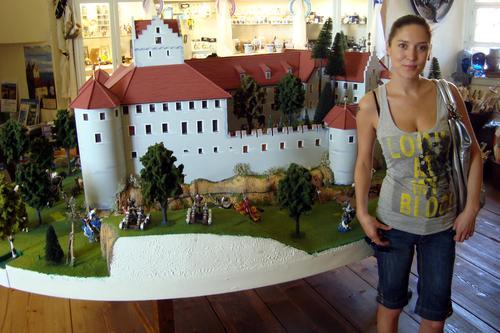 Алена Винницкая в Швейцарии