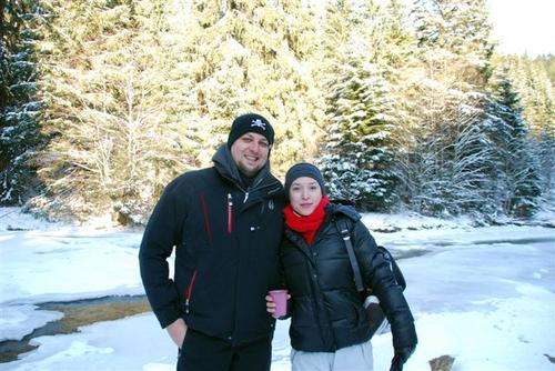 Алена Винницкая с мужем Сергеем Большим
