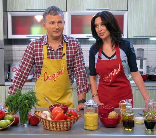 Алена Винницкая и Юрий Горбунов