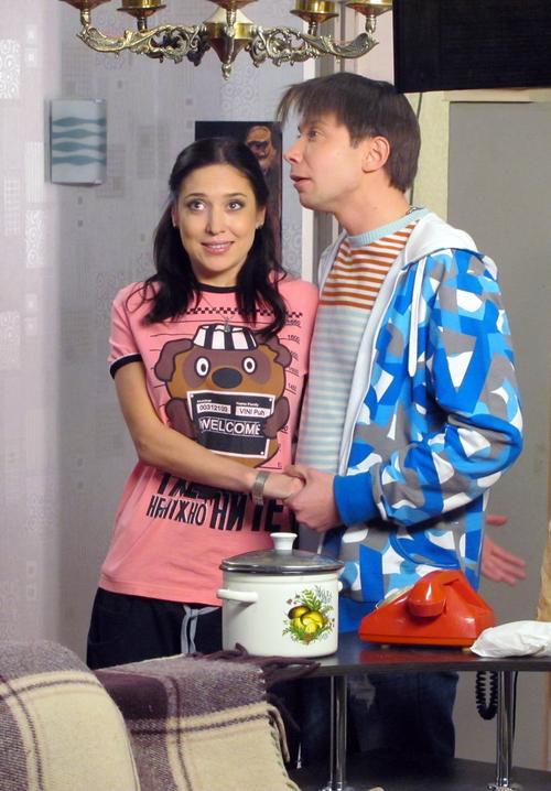 Алена Винницкая в телесериале «Такси»