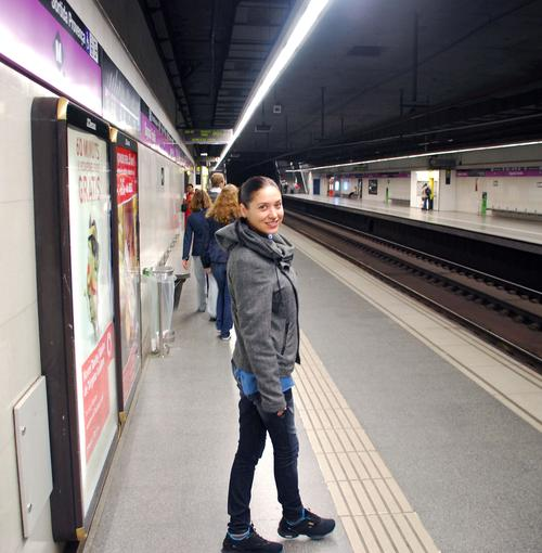 Алена Винницкая в Испании