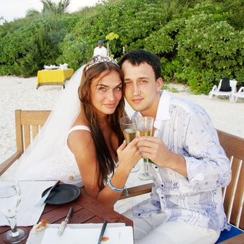 Алена и Алексей на Мальдивах
