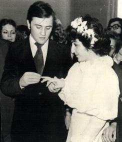 Леонид и Алина поженились в 1977 году