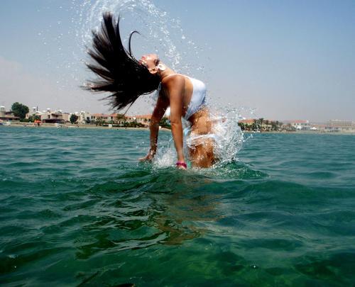Алина Гросу на Кипре