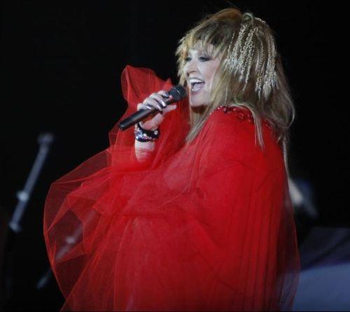 Алла Пугачева на концерте в Киеве