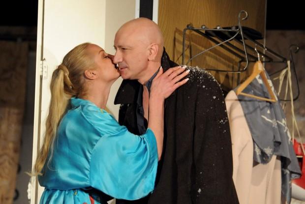 Анастасия Волочкова и Саид Баговв спектакле
