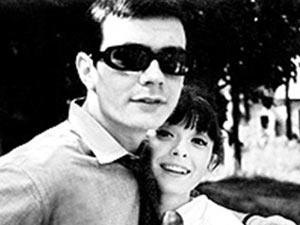 Никита Михалков и Анастасия Вертинская в молодости