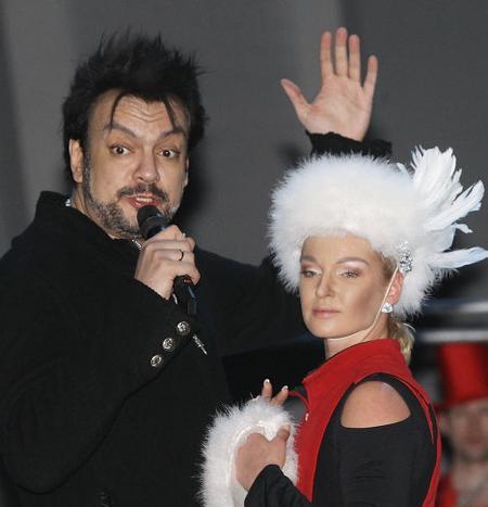 Филипп Киркоров и Анастасия Волочкова