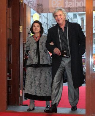 Анатолий Хостикоев с супругой Натальей Сумской