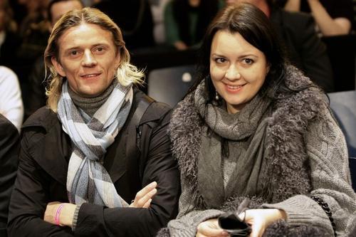 Анатолий Тимощук с супругой Надей