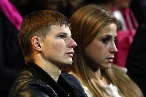 Андрей Аршавин с супругой Юлей