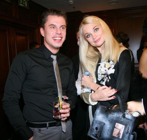 Андрей Доманский и Лида Таран