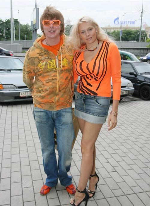 Андрей Григорьев-Апполонов с Мариной