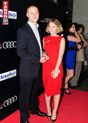 Андрей Хлывнюк с супругой Анной