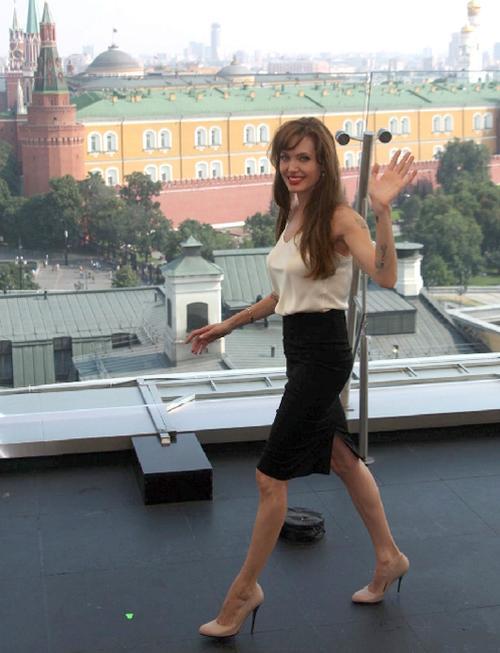 Анджелина Джоли / Angelina Jolie в Москве