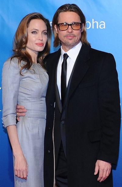 Анджелина Джоли / Angelina Jolie и Брэд Питт / Brad Pitt на Берлинале