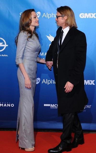 Анджелина Джоли и Брэд Питт на Берлинале