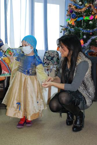 Ани Лорак в онкологической клинике