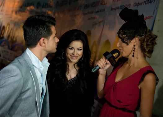 Ани Лорак с супругом Муратом на красной дорожке «Крым мьюзик фест» / Crimea Music Fest