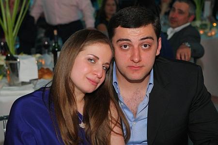 Анжелика Коломойская и Олег Бокоев