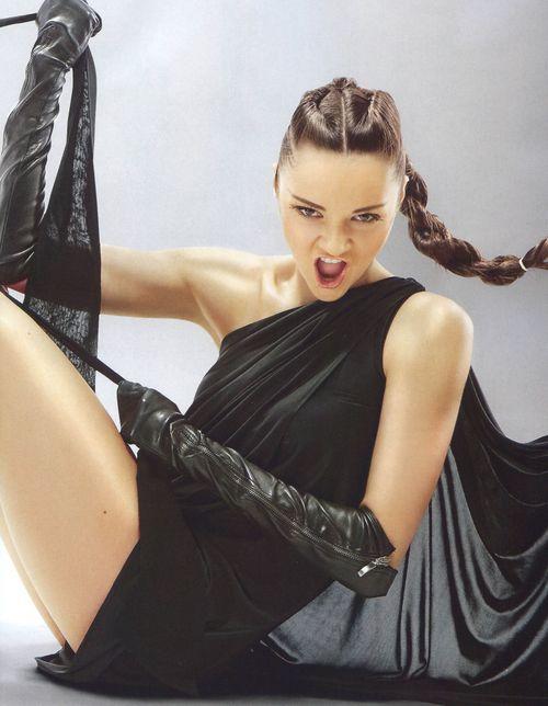 Анна Бессонова обожает фотосессии для глянцевых журналов