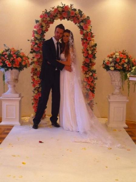 Свадебное фото Анны Седоковой