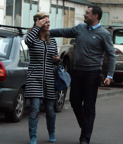 Анна Семенович и Дмитрий Кашинцев