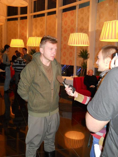 Антон Мухарский на премьере фильма «Неуправляемый»