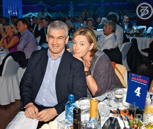 Арина Шарапова с супругом Евгением Карташевым