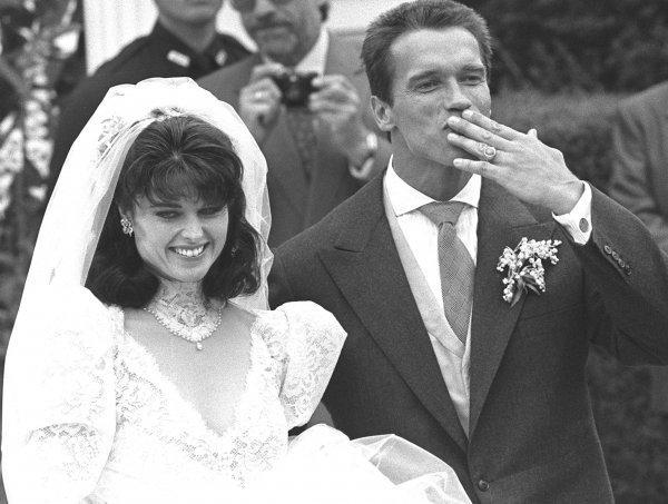 Арнольд Шварценеггер с женой
